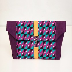 Strap closure bag, small purse