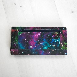 How to sew a wallet with a zippered pocket. Wallet sewing pattern.