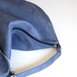 How to sew a bag with zipper closure and lining. Bag sewing patterns.