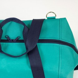 How to sew a bag with a zipper closure and a lining.