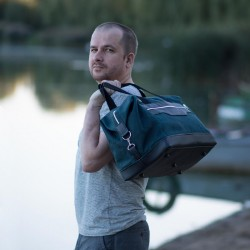 Men's duffle bag - sewing pattern and tutorial