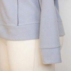 Slim fit hoodie for a woman