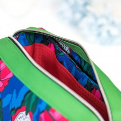 Learn how to sew a bag with 3 compartments - sewing pattern and tutorial.
