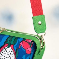 How to sew a strap tabs, how to attach a shoulder strap to a bag.