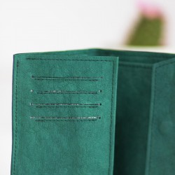 Learn how to sew fully lined card slot pockets - tutorial