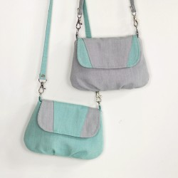 Lila handbag - free sewing pattern and tutorial