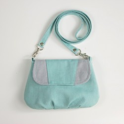 Handbag for a girl - free sewing pattern and tutorial