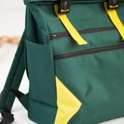 Slip side pocket tutorial, how to sew a backpack