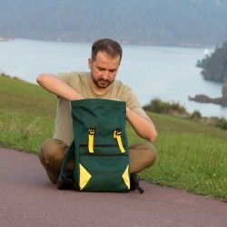Courier backpack pattern in 2 sizes