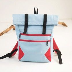 Backpack for men and women, learn how to sew a backpack