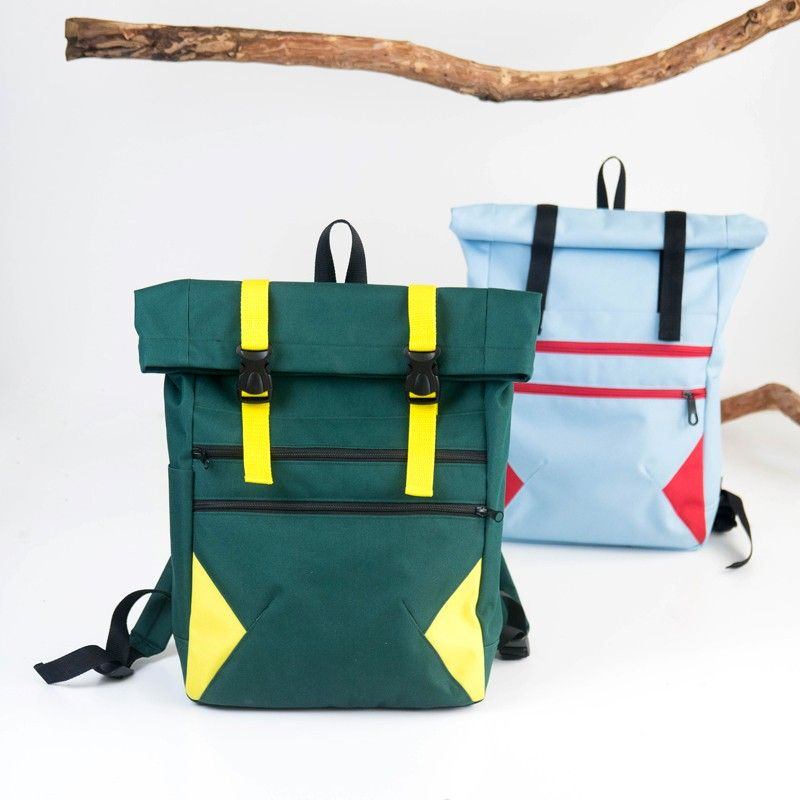 How to sew a courier backpack, backpack sewing pattern and tutorial