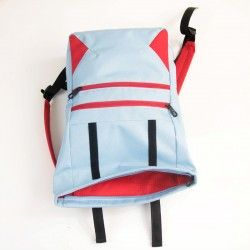 Fold-top backpack, roll top backpack - sewing pattern and tutorial