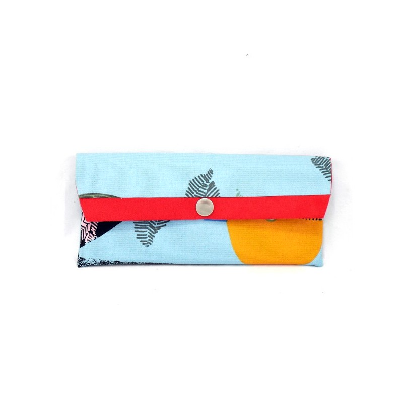 Large clutch wallet for a women - sewing pattern and tutorial, DIY