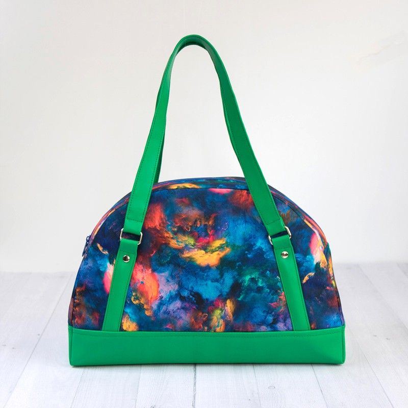 Bowler bag sewing pattern and tutorial, how to sew a bowler bag