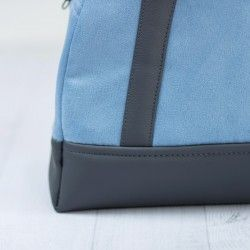 How to sew a bowler bag, large bag sewing pattern and tutorial