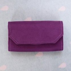 How to sew a clutch wallet. Women's wallet sewing pattern and tutorial.