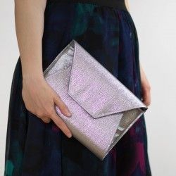 How to sew an envelope clutch - sewing pattern and tutorial