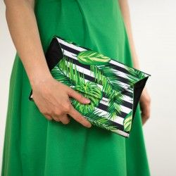 Clutch step by step tutorial and sewing pattern