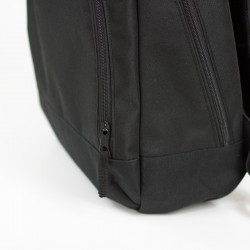 Backpack with front zippered pocket - sewing pattern and tutorial.