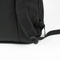 Backpack with contoured, padded shoulder straps - sewing pattern and tutorial.