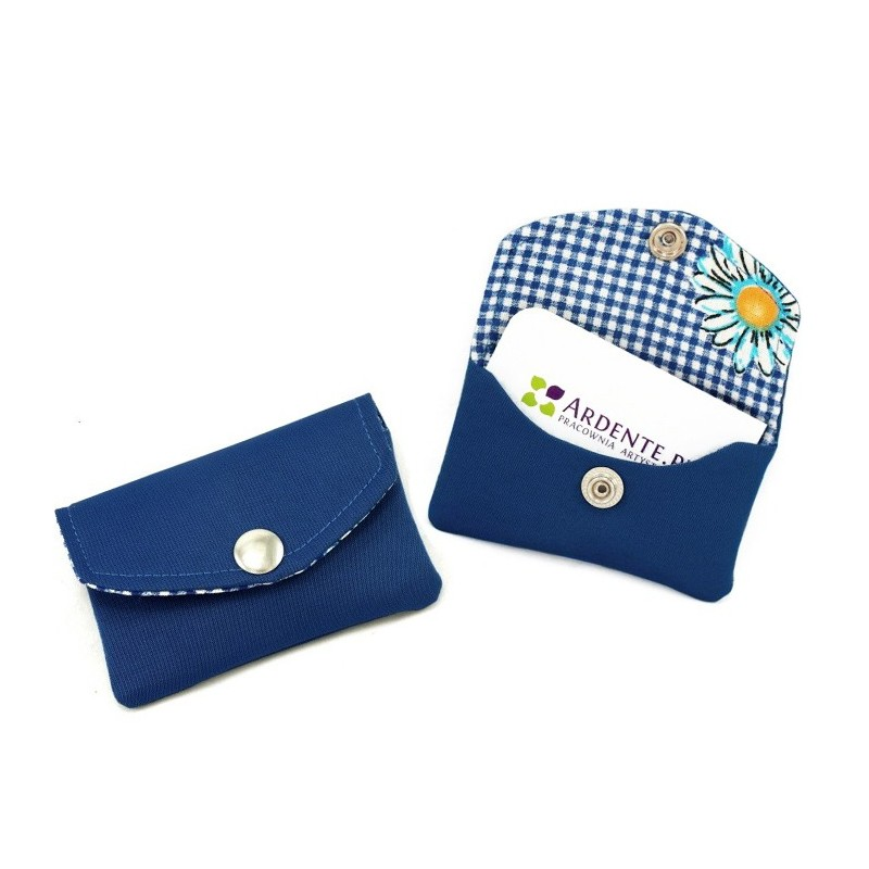 Business card holder sewing pattern, credit card case tutorial, DIY