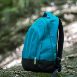 Everyday backpack for a kid or a woman. Learn how to sew a backpack.