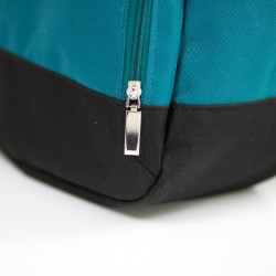 Backpack with a front zippered pocket. How to sew a backpack.