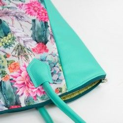 Handle cover patch, strap anchor - sewing tutorial