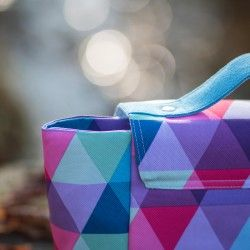 How to sew a bag with a flap. Bag sewing pattern and tutorial.