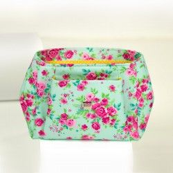 Diamond shaped handbag sewing pattern and tutorial. How to sew a shoulder bag.