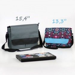Laptop bag for a man or a woman. How to sew a large bag with a laptop pocket.