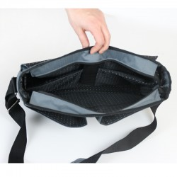 Alex laptop bag sewing pattern and tutorial. How to sew a bag for a man or a woman.