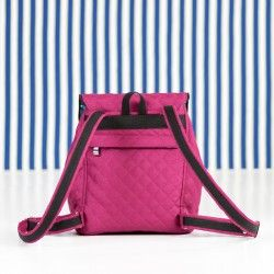 How to sew a backpack with a hidden zipper pocket on the back. Backpack sewing tutorial.