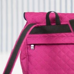 How to sew a hidden zipper pocket. Backpack sewing pattern and step by step tutorial.