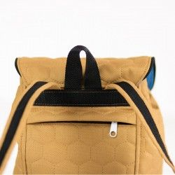 How to sew a hidden, zippered pocket, tutorial. Backpack sewing pattern.